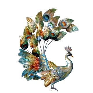 Handmade Tail Raised Peacock (Philippines)