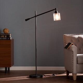 Carbon Loft Edgar Straight Angle Floor Lamp