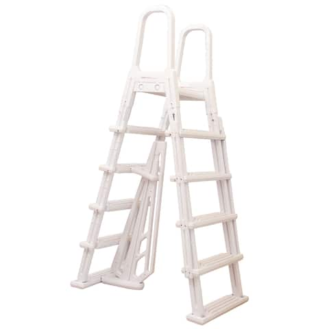 Blue Torrent Dominica A-Frame Ladder for Swimming Pools