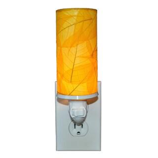 Handmade Eangee Cylinder Nightlight (Philippines) (Option: YELLOW)