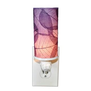 Handmade Eangee Cylinder Nightlight (Philippines) (Option: PURPLE)