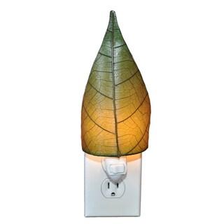 Handmade Leaf Nightlight