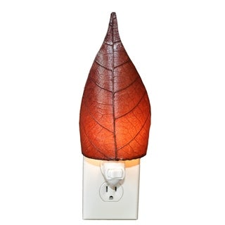 Eangee Leaf Burgundy Nightlight (Philippines)