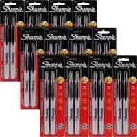 Sharpie Retractable Black Ink Fine Point Permanent Markers