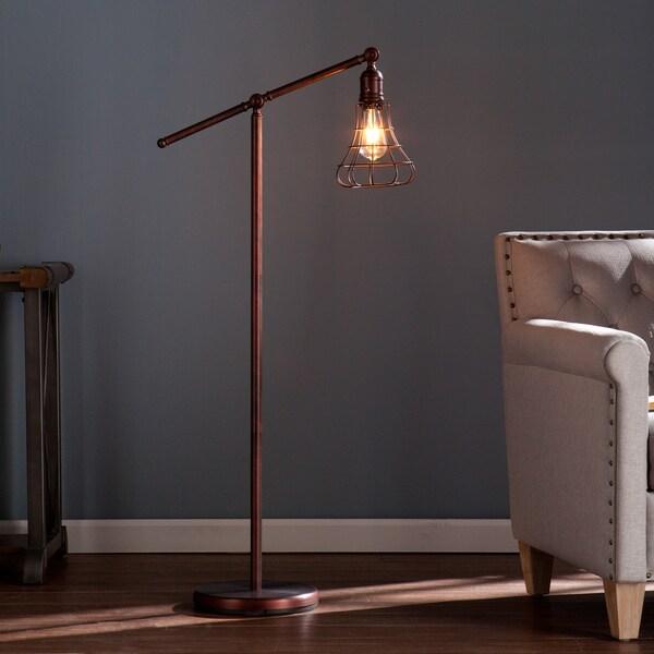Edison Bulb Fan Floor Lamp: Harper Blvd Teige Floor Lamp
