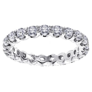 Platinum Diamond Eternity Band (G-H, SI1-SI2)