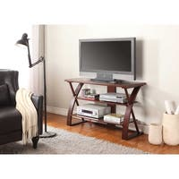 Brown Solid Wood TV Stand