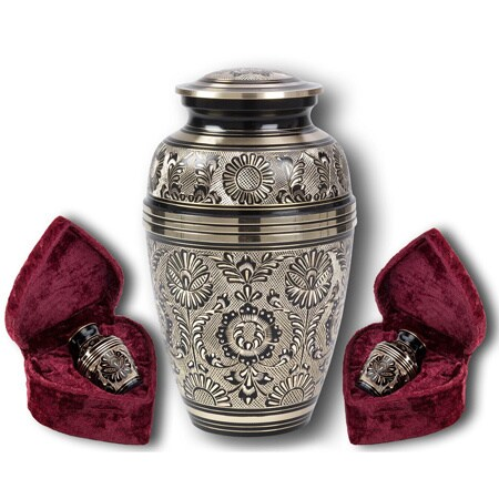 Star Legacy Eternal Ring Brass Cremation Urn 3 Piece Set Overstock 11669342