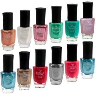 Bonita Salon 12-piece Nail Polish Color Set