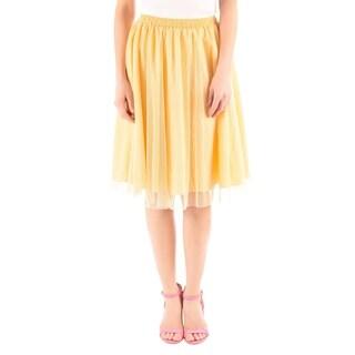 DownEast Basics Women's Tulle Garden Skirt