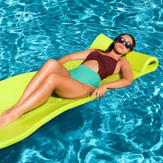 Texas Recreation Sunray Foam Pool Float, Lime