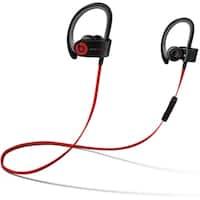Beats PowerBeats 2 Wireless Headphones Black- Refurbished