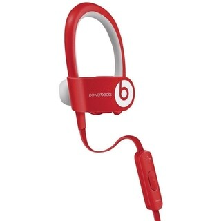 Beats PowerBeats 2 Wireless Headphones Red- Refurbished