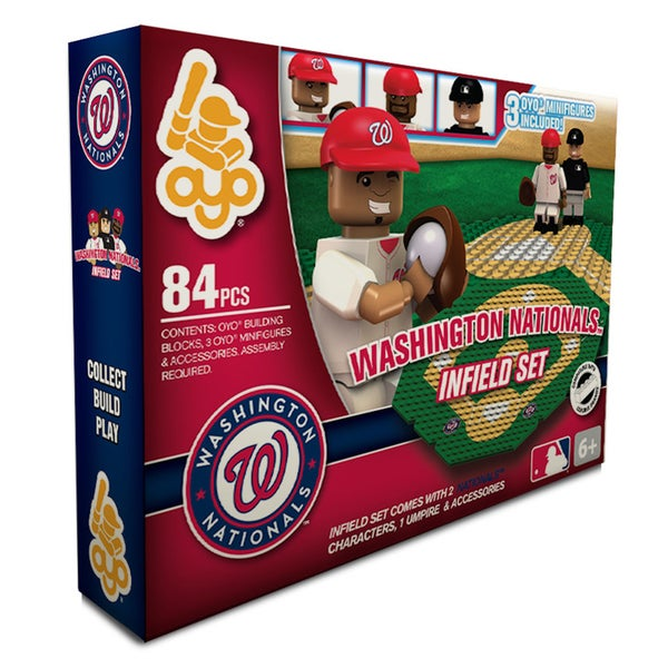 Washington Nationals MLB 84-piece Infield Set 2.0