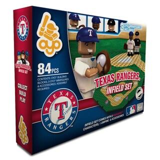 Texas Rangers MLB 84-piece Infield Set 2.0