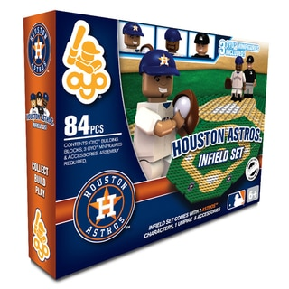 Houston Astros MLB 84-piece Infield Set 2.0