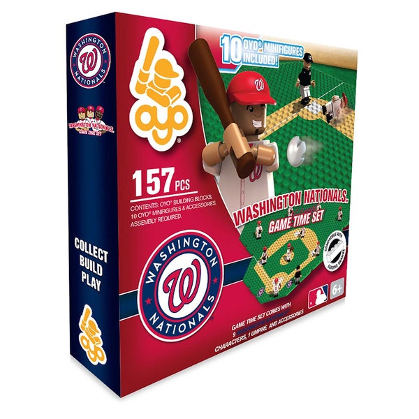 Washington Nationals MLB 157-piece Game Time Set 2.0