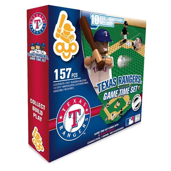 Texas Rangers MLB 157 Piece Game Time Set 2.0