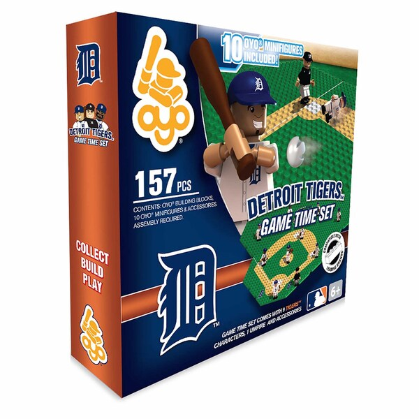 Detroit Tigers 157-piece Game Time Set 2.0