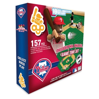Philadelphia Phillies MLB 157 Piece Game Time Set 2.0
