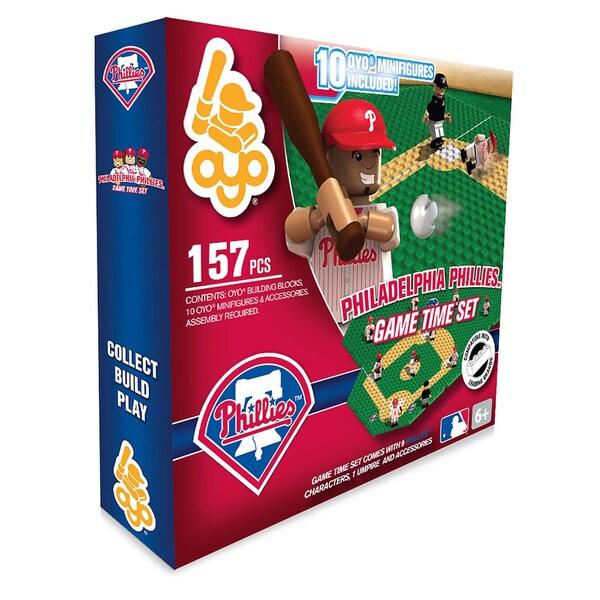 Philadelphia Phillies MLB 157 Piece Game Time Set 2.0