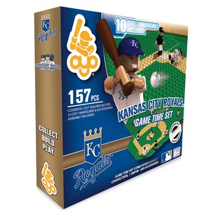 Kansas City Royals MLB 157-piece Game Time Set 2.0