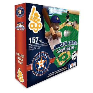 Houston Astros MLB 157 Piece Game Time Set 2.0