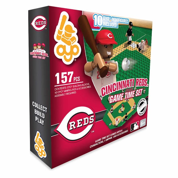 Cincinnati Reds 157-piece Game Time Set 2.0