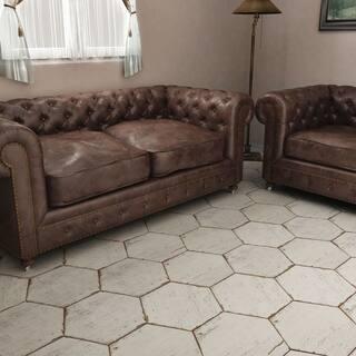 SomerTile 14.125x16.25-inch Lambris Blanc Hex Porcelain Floor and Wall Tile (9 tiles/10.76 sqft.)