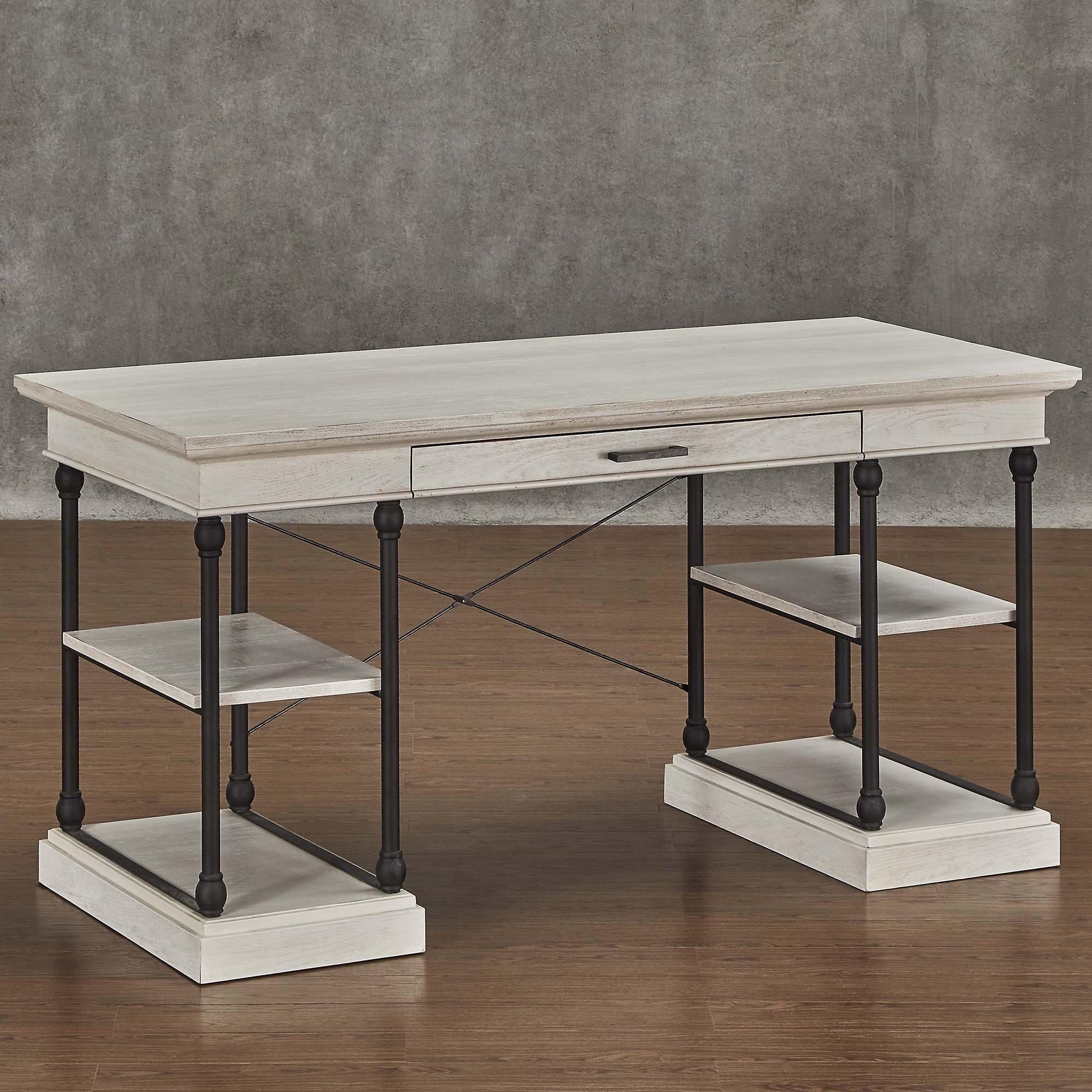 Barnstone Cornice 1-drawer Storage Writing Desk by iNSPIR...