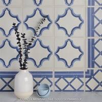 SomerTile 7x7-inch Grava Quatro Ara Centro Porcelain Floor and Wall Tile (30 tiles/10.95 sqft.)