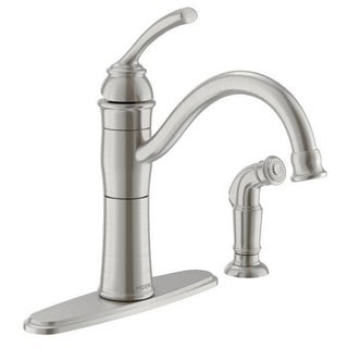 Moen Braemore Single Hole Kitchen Faucet 87230SRS Spot Resist Stainless