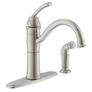 Moen Braemore Single Hole Kitchen Faucet 87230SRS Spot Resist Stainless