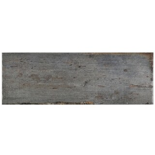 SomerTile 8.25x23.5-inch Lambris Cendra Porcelain Floor and Wall Tile (Case of 8)