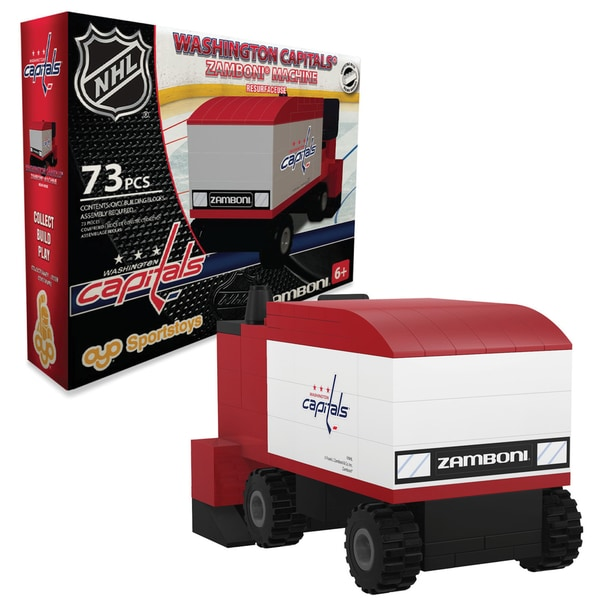 Washington Capitals NHL 73-piece Zamboni Set
