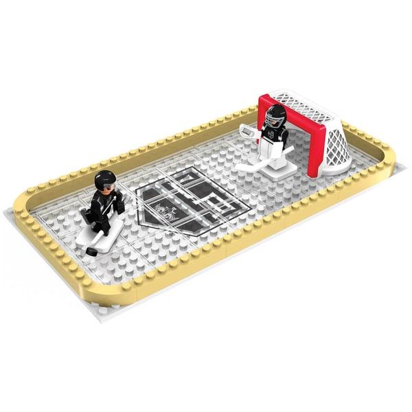 Los Angeles Kings NHL 100-piece Backyard Rink Set