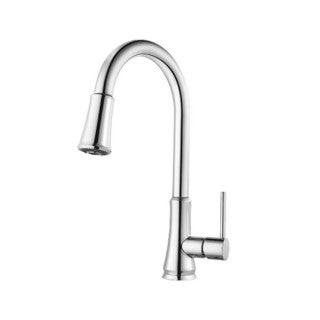 Pfister Pfirst Series Single Hole Kitchen Faucet G529-PFCC Chrome