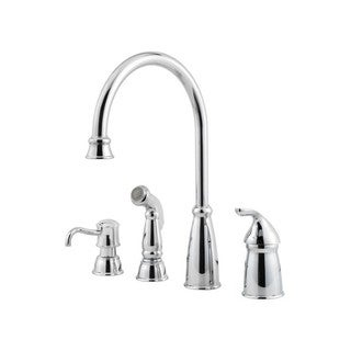 Pfister Avalon Widespread Kitchen Faucet GT26-4CBC Polished Chrome