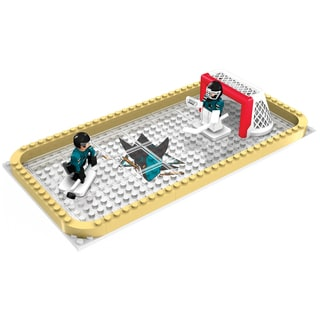 San Jose Sharks NHL 100-piece Backyard Rink Set