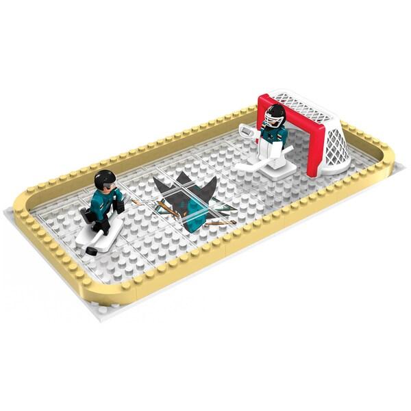 San Jose Sharks NHL 100-piece Backyard Rink Set