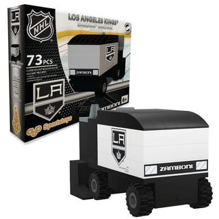 Los Angeles Kings NHL 73 Piece Zamboni Set