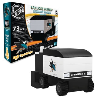 San Jose Sharks NHL 73-piece Zamboni Set
