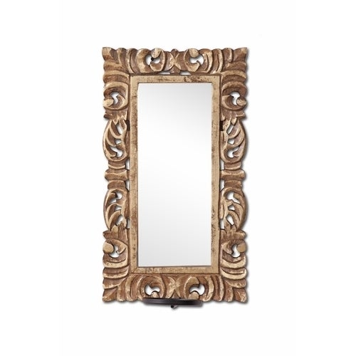 Stunning Wall Sconce with Mirror