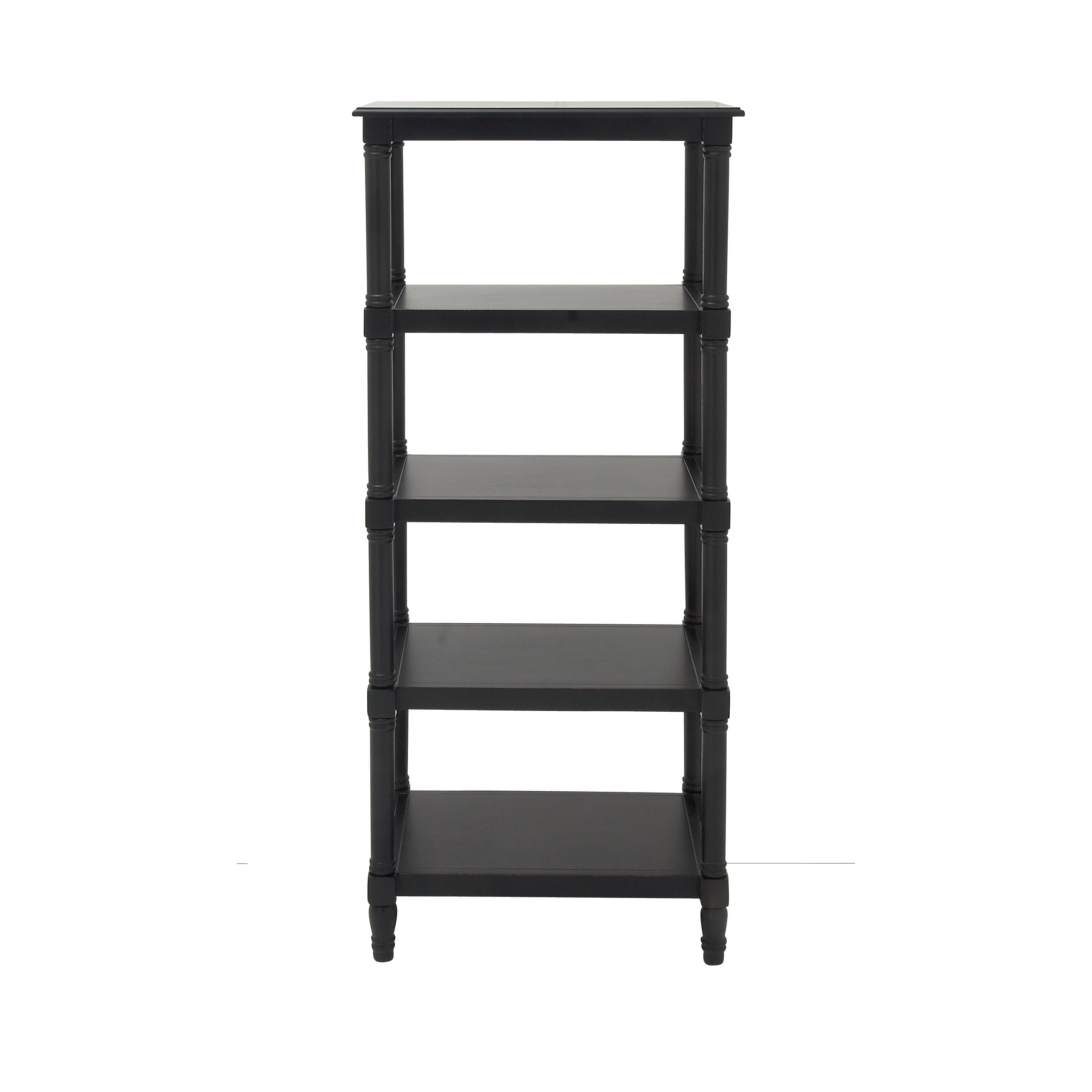 Quality Wood Bookcase 24 Inch Wide