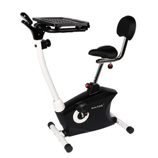 Loctek Uf6m Stationary Bike Magnetic Desk Exercise Bike Indoor Cycling For Home/ Office Use