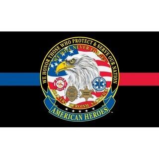 American Heroes Flag
