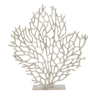 Havenside Home Buckroe 21-inch Aluminum Coral Accent