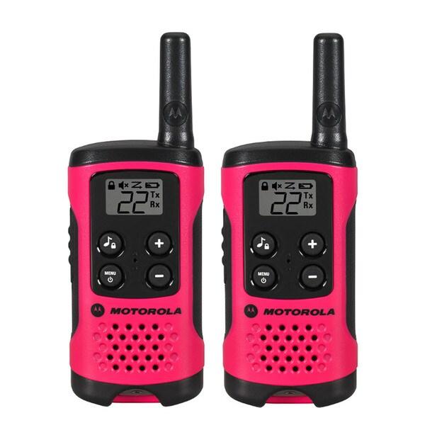 Motorola Pink Talkabout T107 (Set of 2)