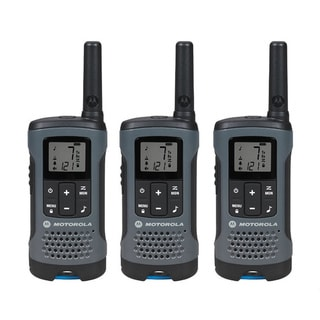 T200TP Grey Rechargeable 2-Way Radio Triple Pack
