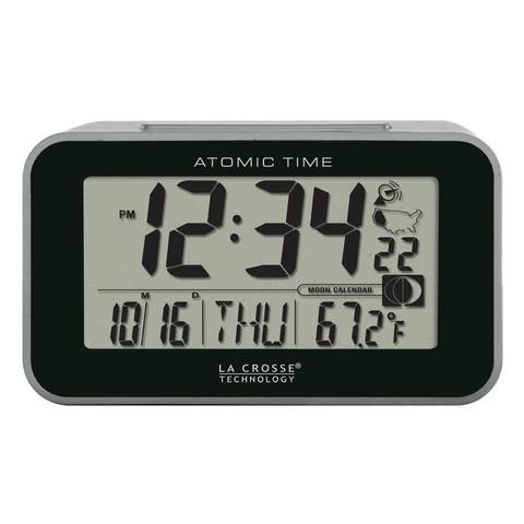 La Crosse Technology 617-1270 Atomic Digital Alarm with Temperature
